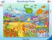 Barevný podmořský svět 11 dílků 2D Puzzle;Dětské puzzle - Ravensburger