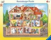 Blick ins Haus Puzzle;Kinderpuzzle - Ravensburger