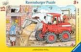 Mein Bagger Puzzle;Kinderpuzzle - Ravensburger