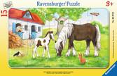 Stute und Fohlen Puzzle;Kinderpuzzle - Ravensburger