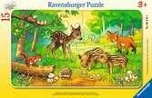 Tierkinder des Waldes Puzzle;Kinderpuzzle - Ravensburger