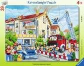 Die Feuerwehr rückt aus Puzzle;Kinderpuzzle - Ravensburger