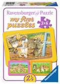 Mes animaux de compagnie préférés Puzzle;Puzzle enfant - Ravensburger