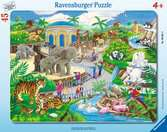 Besuch im Zoo Puzzle;Kinderpuzzle - Ravensburger
