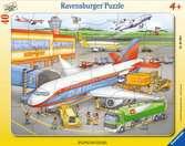 Kleiner Flugplatz Puzzle;Kinderpuzzle - Ravensburger