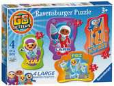 Go Jetters Four Shaped Jigsaw Puzzles Puzzles;Children s Puzzles - Ravensburger