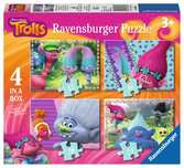Trolls 4 in Box Puzzles;Children s Puzzles - Ravensburger