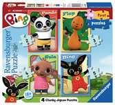 Bing 4 in Box Puzzles;Children s Puzzles - Ravensburger