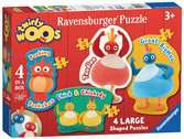 Twirlywoos Four Shaped Puzzles Puzzles;Children s Puzzles - Ravensburger