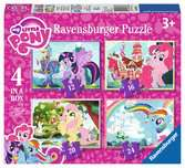 My Little Pony 4 in Box Puzzles;Children s Puzzles - Ravensburger
