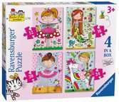 Rachel Ellen Girls 4 in Box Puzzles;Children s Puzzles - Ravensburger