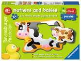 My First Puzzles Mother and Babies 6 x 2pc Puzzles;Children s Puzzles - Ravensburger