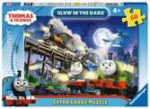 Thomas & Friends Giant Floor Glow in the Dark Puzzle, 60pc Puzzles;Children s Puzzles - Ravensburger