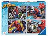 Spiderman 4x100 pezzi Puzzle;Puzzle per Bambini - Ravensburger