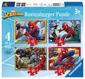 Spider-Man 4 in Box Puzzles;Children s Puzzles - Ravensburger