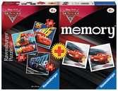 Multipack 3 Puzzle + memory Cars Giochi;Giochi educativi - Ravensburger