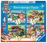 Ravensburger Paw Patrol 4 in a Box (12, 16, 20, 24pc) Jigsaw Puzzles Puzzles;Children s Puzzles - Ravensburger