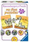 Adorables familles d'animaux Puzzle;Puzzles enfants - Ravensburger