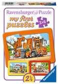 Garbage Truck, Ambulance, Tow Truck Puslespil;Puslespil for børn - Ravensburger