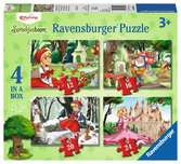 4-in-1 puzzel Efteling Spellen;memory® - Ravensburger
