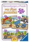 Bouwvoertuigen Puzzels;Puzzels voor kinderen - Ravensburger