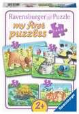 Schattige huisdieren Puzzels;Puzzels voor kinderen - Ravensburger