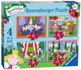Ben & Holly 4 in Box Puzzles;Children s Puzzles - Ravensburger