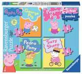Ravensburger Peppa Pig - My First Jigsaw Puzzles (2, 3, 4 & 5pc)  Toddler Toy for Kids 18 Months and Up Puzzles;Children s Puzzles - Ravensburger