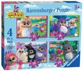Bush Baby World 4 in Box Puzzles;Children s Puzzles - Ravensburger