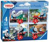 Thomas & Friends Big World Adventures 4 in a Box Puzzles;Children s Puzzles - Ravensburger