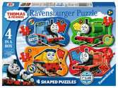 Thomas & Friends Big World Adventures Four Shaped Puzzles Puzzles;Children s Puzzles - Ravensburger