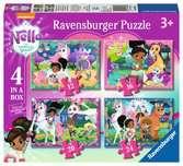 Nella the Princess Knight 4 in a Box Puzzles;Children s Puzzles - Ravensburger
