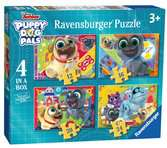 Puppy Dog Pals 4 in a Box That's Paw-Some Puzzles;Children s Puzzles - Ravensburger