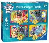 Kámoši hafíci 4 v 1 2D Puzzle;Dětské puzzle - Ravensburger