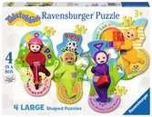 Teletubbies Four Shaped Puzzles Puzzles;Children s Puzzles - Ravensburger