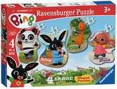 Bing Bunny Four Shaped Puzzles Puzzles;Children s Puzzles - Ravensburger