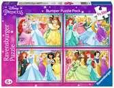 Principesse Disney 4x100 Bumper Pack Puzzle;Puzzle per Bambini - Ravensburger