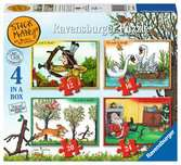 Stickman 4 in Box Puzzles;Children s Puzzles - Ravensburger