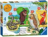 The Gruffalo 4 Shaped Puzzles Puzzles;Children s Puzzles - Ravensburger