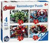 Avengers Assemble 4 in Box Puzzles;Children s Puzzles - Ravensburger