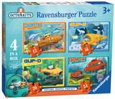 Octonauts 4 in Box Puzzles;Children s Puzzles - Ravensburger