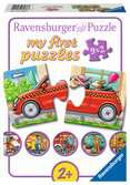 Allerlei Fahrzeuge Puzzle;Kinderpuzzle - Ravensburger