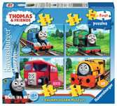 Thomas & Friends My First Puzzle (2, 3, 4 & 5pc) Puzzles;Children s Puzzles - Ravensburger