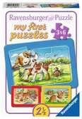 Mijn dierenvriendjes Puzzels;Puzzels voor kinderen - Ravensburger