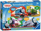 Thomas & Friends 4 Shaped Puzzles Puzzles;Children s Puzzles - Ravensburger