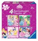 Beeldschone prinsessen Puzzels;Puzzels voor kinderen - Ravensburger
