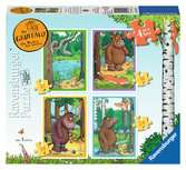 The Gruffalo 4 in a box, 12, 16, 20 & 24pc Puzzles;Children s Puzzles - Ravensburger