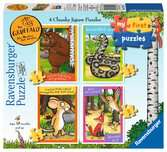 The Gruffalo My First Puzzles, 2, 3, 4 & 5pc Puzzles;Children s Puzzles - Ravensburger