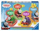 Thomas & Friends Four Shaped Puzzles Puzzles;Children s Puzzles - Ravensburger