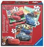 CARS 3 W 1 Puzzle;Puzzle dla dzieci - Ravensburger